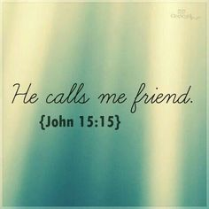 "He calls us ""friend"" guys!"
