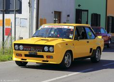 Fiat-Abarth 131 Rallye - Yellow Car