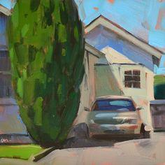 Carol Marine's Painting a Day: Big Bush