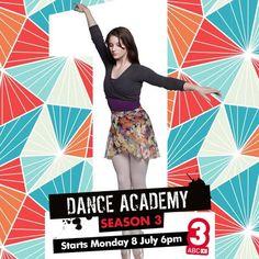 Tara in Dance Academy season 3...