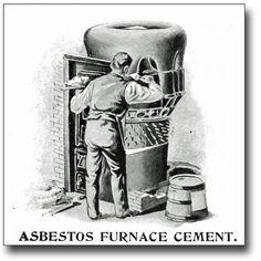 Asbestos Furnace Cement ad