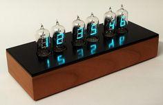 Tube Clock.  by Dieter Wächter