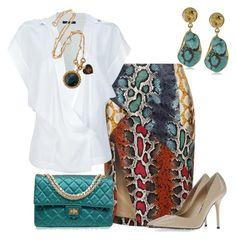 Estilo Glam by outfits-de-moda2 on Polyvore featuring moda, Anthony Vaccarello, Lavish Alice, Dolce&Gabbana, Chanel, Juicy Couture and Zariin