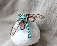 Wire dragonfly -Accessories and Vessels | Wire Moon