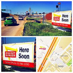 You heard right -- an In-N-Out Burger is going up right across the street from Baylor!