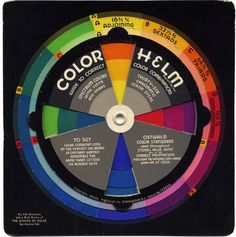 i need one of these, its a 40's cloting color wheel :)