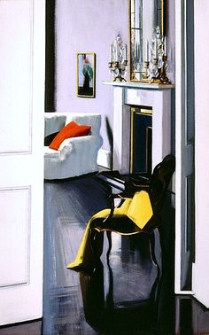Francis Campbell Boileau Cadell  Interior  20th century