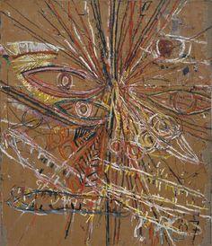 Mark Grotjahn - Untitled (Face)