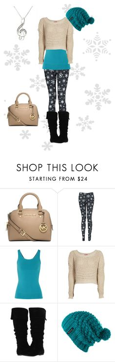 """Winter wonderland"" by fiat-justitia ❤ liked on Polyvore featuring Michael Kors, Boohoo, Yummie by Heather Thomson, Gabriella Rocha and Spacecraft"