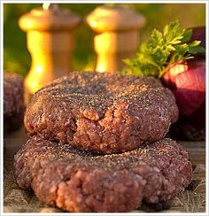 Clean Eating Bison Burgers..these are soo good!