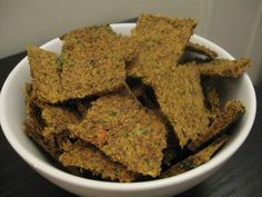 Juicer pulp raw crackers. Biggest regret of the dissipation of my relationship with K: he got the dehydrator. But, one day, I will get a new one and then I can stop throwing away perfectly good pulp!