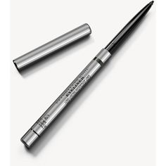 Burberry Effortless Kohl Eyeliner – Storm Green No.06 (361.885 IDR) ❤ liked on Polyvore featuring beauty products, makeup, eye makeup, eyeliner, long wear eyeliner, long wearing eyeliner and burberry
