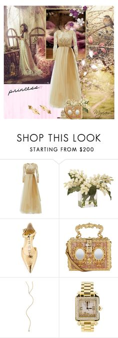 """""""princess"""" by lovemeforthelife-myriam ❤ liked on Polyvore featuring Notte by Marchesa, Ethan Allen, Dolce&Gabbana, ZoÃ« Chicco and Chopard"""