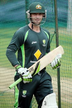 Phillip Hughes Photos: Australia Training Session