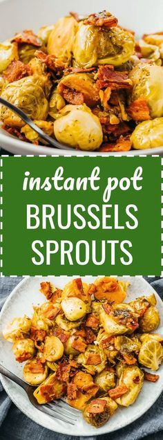 Learn how to cook brussels sprouts in the Instant Pot pressure cooker. Only takes minutes to cook and is ideal for low carb & keto (see nutrition facts in recipe). It's faster than pan seared on the stove top, oven baked / roasted, or the slow cooker. Instant Pot Pressure Cooker, Pressure Cooker Recipes, Slow Cooker, Pressure Cooking, Healthy Crockpot Recipes, Cooking Recipes, Paleo Recipes, Roast Recipes, Drink Recipes