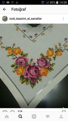 Cross Stitch Pictures, Soutache Jewelry, Christmas Cross, Rose Bouquet, Embroidery, Create, Pattern, Hand Embroidery Stitches, Embroidery Stitches
