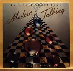 MODERN TALKING - Let´s talk about Love - near mint nm - Italo Disco Vinyl LP