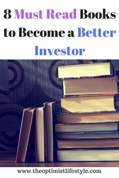 I have always believed that you need to invest in yourself in order to grow, develop and fufill your potential. One of the best ways to do this is to read as much as you can on a specific topic that you wish to grow and develop in. This article highlights 8 must read books in order to build your wealth through investing. #investing #personalfinance