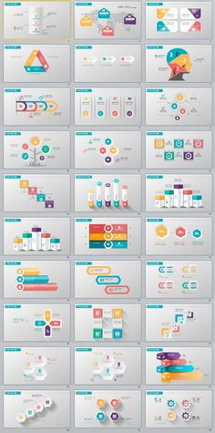 30+ three dimensional infographics PowerPoint template #powerpoint #templates #presentation #animation #backgrounds #pptwork.com #annual #report #business #company #design #creative #slide #infographic #chart #themes #ppt #pptx #slideshow