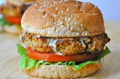 The Eggplant Burger: This burger is savory, filling and addictive. Packed full of protein and vitamins, this recipe makes for a delicious meal! Top it...