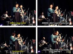 The funny part here is Jensen thinking people pay for fanfiction...