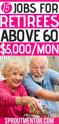 Are you a senior or retiree who wants to make money online? Here are 15 jobs for seniors and part time jobs for the retired to make money online and even working from home. #seniors #retirees #jobsforseniors #seniorcitizen #jobsforretirees #parttimejobsforseniors #parttimejobsfortheretired #workfromhome #makemoneyonlie #workathome #onlinejobs #sidejobs