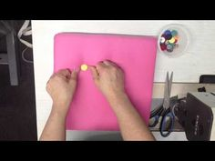 Voodoo Molly Vintage Upholstery - How to tie on buttons (slip knot) - YouTube