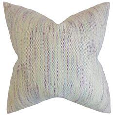 The Pillow Collection Lakota Striped Throw Pillow & Reviews | Wayfair
