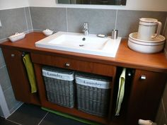 wasmand in kast - Google Search