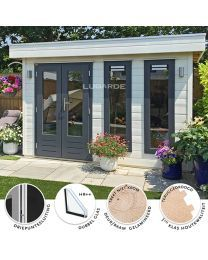 Lugarde PR2  tuinhuis Outdoor Living, Outdoor Decor, Home Decor, Outdoor Life, Decoration Home, Room Decor, The Great Outdoors, Outdoors, Interior Decorating