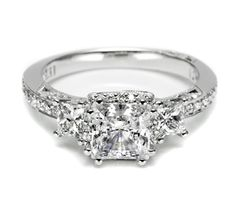 Capri Jewelers Arizona ~ www.caprijewelersaz.com favorite so far....Tacori Engagement Rings, Diamond Engagement Rings