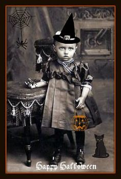 Primarily Primitives by abigailes_mommy: Altered Vintage Halloween Images