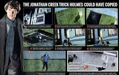 Is this how Sherlock faked his death? The Jonathan Creek trick Holmes could have copied involving a fake trap door