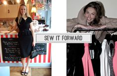 Sew It Forward featured on Lady M Presents blog