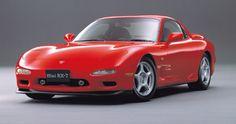 3代目RX-7 当然FDと型名で言うべし。日本ではドリフトマシンみたいになってるが、そもそもは大人のスポーツカー。