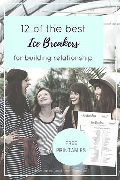 Need some new ice breaker ideas? Here's our favourites! We love these both for breaking the ice and getting to know your crew on a whole new level. Includes free printables! Tansquared Youth Ministry