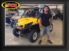 Thanks to Pablo Breton from Sumrall MS for getting a 2017 Can-Am Commander 800 @HattiesburgCycles