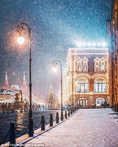 Russian photographer Kristina Makeeva produces snow storm images of Moscow Moscow Winter, Winter Szenen, Winter Magic, Storm Images, Meditation France, Winter Songs, Winter's Tale, Winter Photography, Wedding Photography