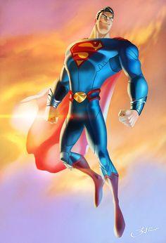 PIXAR's Superman  Art by cheetor182  DC Fan Arts #16