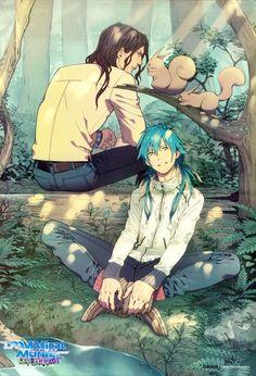 Anime Yaoi Fanart - Lưu Trữ - Dramatical Murder: Mink x Aoba Manga Anime, All Anime, Anime Love, Anime Guys, Awesome Anime, Overwatch, Bl Games, Nitro Chiral, Aldnoah Zero