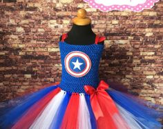 Tutu de WonderWoman por LittleACreations23 en Etsy