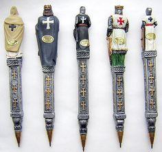 Knights Templar:  #Knights #Templar pens.