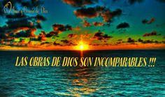 Las obras de Dios son incomparables !