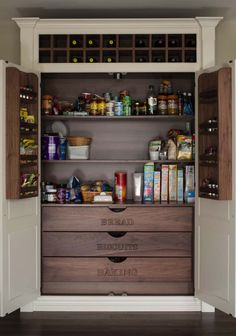 Elegant Kitchen Pantry Cabinet Ideas