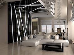 I want our apartment to look like this. Divider, Interior, Room, 3d Rendering, Furniture, Home Decor, Licence Plates, Bedroom, Decoration Home