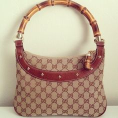 Gucci Bamboo Handle Bag Pre-loved, mint condition Gucci Bags