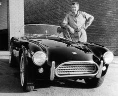 Carroll Shelby & the AC Cobra. Ac Cobra, Mustang Cobra, King Cobra, Us Cars, Sport Cars, Race Cars, My Dream Car, Dream Cars, Shelby Car