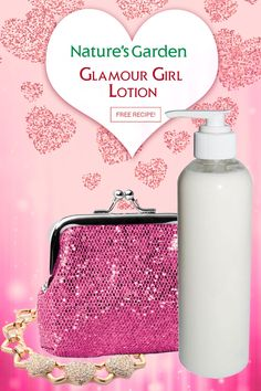 Glamour Girl Lotion Recipe by Natures Garden.