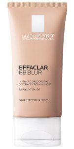 La Roche-Posay Effaclar Duo Dual Action Acne Treatment Cream with Benzoyl Peroxide, Oil-Free, 1.35 Fl. Oz.