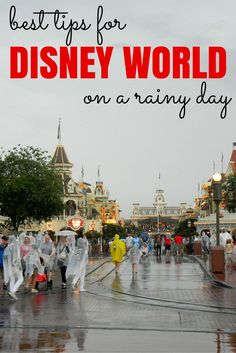 Planning a Walt Disney World visit but worried about the weather? Be prepared for rain with these top packing, preparation, and park navigation tips!